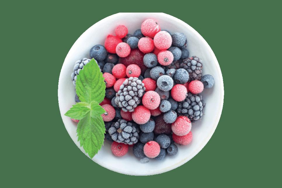 Fagyasztott gyümölcsök